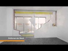 Die 8 Besten Bilder Von Wand Durchbruch Build House Building A