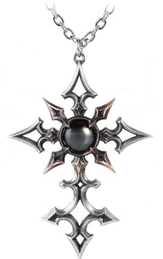 ChaoCrucis Pendant, Alchemy Gothic, Infectious Threads (infectiousthreads.com)