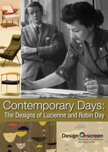Contemporary Days: The Designs of Lucienne and Robin Day on film. Watch an excerpt at Design On Screen; a brilliant initiative for Architecture and Design on Film Lucienne Day, Robin Day, Art And Architecture, Three Dimensional, Design Projects, Film Watch, Contemporary, Cover, Films