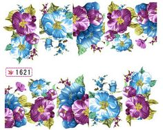 1 Sheet Lovely Flowers Manicure Tips Colorful Decals Fashion Design Popular Nail Art Stickers Color * To view further for this item, visit the image link. Nail Art Stickers, Nail Decals, Sand Decorations, Nailart, Popular Nail Art, Manicure Tips, Flower Nail Art, Hot Nails, Glitter Nail Art