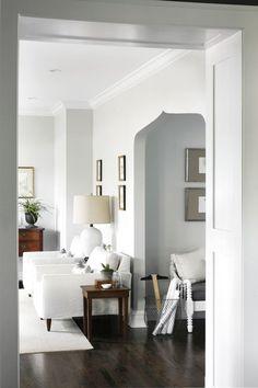 Trendy gray paint colors...BM Moonshine...love this!