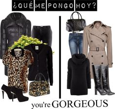"""¿Que me pongo hoy?"" by hamaly ❤ liked on Polyvore"