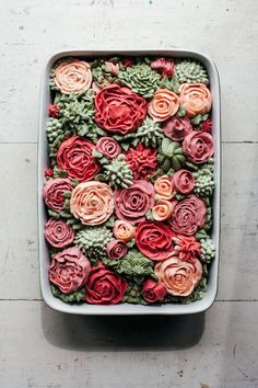 ROSE ROSE CAKE {it really is a cake with some intensive frosting}