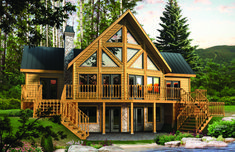 From Contemporary and Craftsman, to the Classic log home look and Vintage design, here are 20 models between 1500 and 2000 square feet we're sure you'll love. Enjoy!#timberblock #floorplans #homedesign #inspiration A Frame Cabin, A Frame House, Log Home Floor Plans, House Plans, Metal Building Homes, Building A House, Timber Logs, Log Cabin Homes, Log Cabins