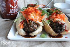Confessions and a Damn Good Hoisin Flavored Meatball Sandwich.Hip Foodie Mom   Hip Foodie Mom