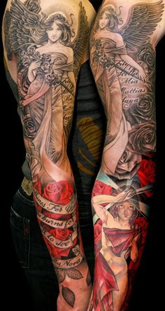 Religious Tattoo by Niki Norberg | Tattoo No. 7519