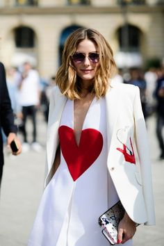 Photographer Tyler Joe is at it again capturing the chicest looks on the Parisian streets: Olivia Palermo.