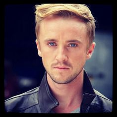 ❤ Tom Felton. Can you imagine looking into those eyes every night❤