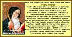 Todo Mujer: ORACION PARA PEDIR LA PROTECCION DE SAN BENITO