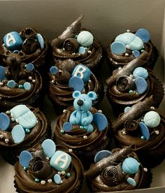 baby shower cupcakes for boys | Recent Photos The Commons Getty Collection Galleries World Map App ...
