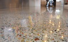 Polished Concrete - Mechanically Polished Concrete (MPC) HiPERFLOOR #HiPERFLOOR