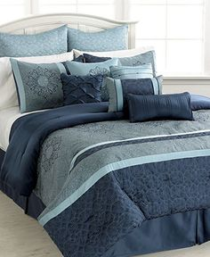 I really want this!!!!    Ambrosia 12 Piece Comforter Set - 2-DAY SPECIALS - Bed & Bath - Macy's
