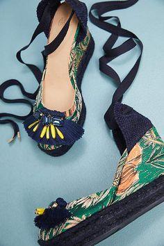 Anthropologie Castaner Carina Wedge Sandals