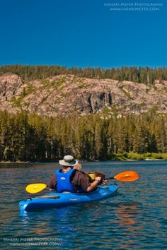 Top 6 lakes to paddle CA
