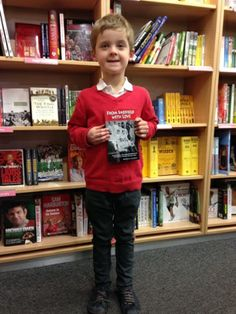"""Bookstore stories – """"My six year old discovers my book in Foyles, the only non-online bookshop in the world to stock it."""" http://www.almaalexander.org/invented/"""