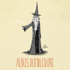 Geek Art: Artist Re-creates Harry Potter Characters in the Style of Tim Burton!