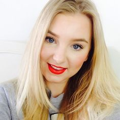 Alexandra Stephens: A Fun Bright, Spring Makeup Look Spring Makeup, Bright Spring, Red Lips, Makeup Looks, Long Hair Styles, Fun, Beauty, Fin Fun, Make Up Looks