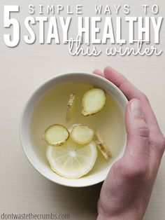 5 Simple Ways to Stay Healthy this Winter