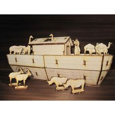 Noah Ark plywood puzzle