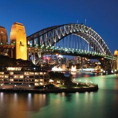 Sydney Harbour Bridge - close to Hyde Park Backpackers Hyde Park, Sydney Harbour Bridge, Hostel, Backpacking, Travel, Voyage, Backpacker, Travel Backpack, Viajes
