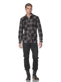 Maharishi: Italian Flannel Check Work Shirt