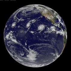"""HOLY CALAMITY - News on Aug 31 2015...hope these hurricanes stay out of our way!  Article says """"for the first time in recorded history, three Category 4 hurricanes have appeared in the Pacific Ocean at the same time…"""""""