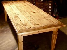 Reclaimed Wood Country Kitchen Table : Classic Timeless Country Kitchen Table from Kitchen Appliance Reviews