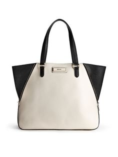DKNY bag - Saffiano Leather Large Zip Tote s/s 2014: check :-)