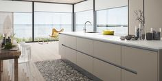 HTH Kitchen ConceptVH7 - I love the stone flooring