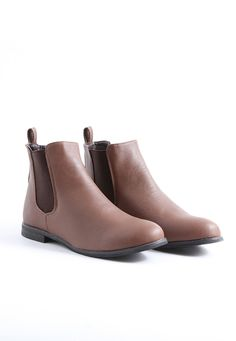 Pattricia Chelsea Boots In Brown    brown gets overlooked a lot but i think is a must