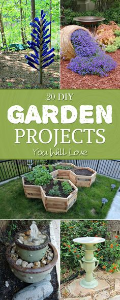 20 Creative DIY Garden Projects You Will Love