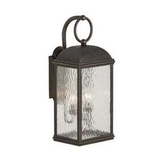 Shop for Sea Gull Branford 2 Light Obsidian Mist Outdoor Fixture. Get free delivery at Overstock.com - Your Online Garden & Patio Shop! Get 5% in rewards with Club O! - 20930112