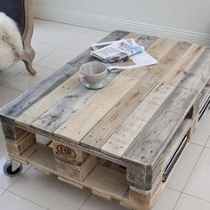 DIY pallet coffee tables projects do try this at home DIY-Paletten-Couchtisch-Projekte versuchen dies zu Hause This image has get
