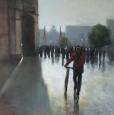 After The Rain, painting by artist Dana Cooper