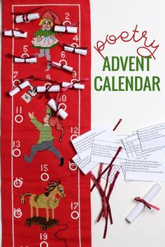 Try something new this Christmas. This poetry advent calendar is truly the best advent calendar for kids. It increases literacy, a love of poetry and if you choose limericks, it offers 24 days of giggles! Advent Activities, Christmas Activities For Kids, Easy Christmas Crafts, Christmas Countdown, Christmas Projects, Christmas Ideas, Poetry Activities, Christmas Ornaments, Advent Calendar For Toddlers