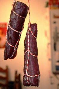 Schweinefilet kaltgeräuchert - Nach dem ersten Räuchergang