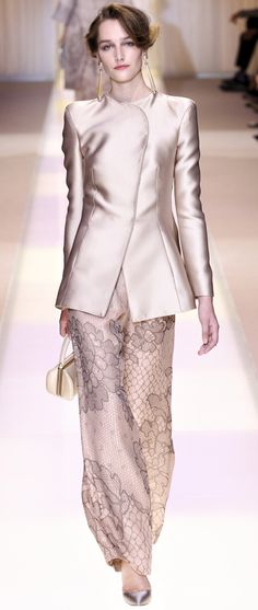 Armani Prive Haute Couture Autumn 2013