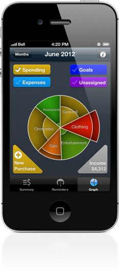 THIS APP FOR IPHONE HELPS YOU EASILY MAINTAIN CONTROL OF YOUR FINANCES  Posted on Nov 26, 2012    Black Friday's name stems from the opportunity businesses have to turn a profit, or remain in the black, by making huge sales to customers enticed by the savings on offer. That's all very well for the companies, but on a personal level, it's important we too keep our heads above water, and as we collectively drag ourselves from the financial meltdown of a few years ago, we should ...