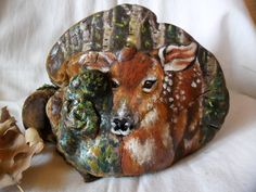 artist conk , painted Fawn