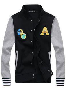 メンズカジュアルファッションジャケット ジュアル ブルゾンヤン グメンズ 春服 全3色