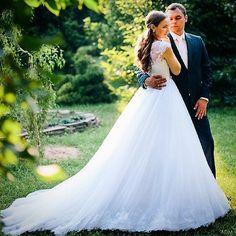 Замечательная Татьяна в свадебном платье Barocco из коллекции ТМ #Dominiss