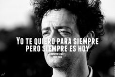 gustavo cerati adios | Tumblr Lyric Quotes, Poetry Quotes, Lyrics, Soda Stereo, Frases Marketing, Cute Phrases, Einstein, Musicals, Inspirational Quotes