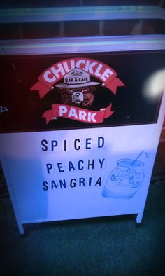 We love sangria :)