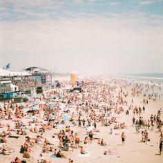 1960's on the beach