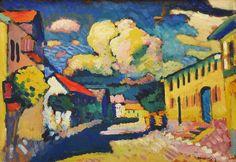 "Wassily Kandinsky - ""Murnau. A Village Street"", 1908"