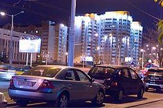 Belarus. Minsk in the evening.
