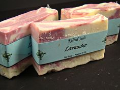 Lavender Bar Soap, Natural Bar Soap, Handmade Soap, Vegan Soap, Artisan Soap, Cold Process, Bar Soap, Vegan Bar Soap, Lavender Soap - pinned by pin4etsy.com