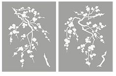 Small Blossom Silhouettes Stencil – Henny Donovan Motif