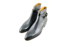 #Aubercy - Robin - Boots à lanières - Ankle boots - Ligne Mesure - Sur mesure - Made to order - #Dapper - #Men - #Shoes