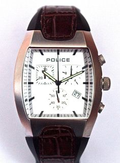 Police streamlined model. This Italian designed watch is something different from €250,- for €99,- www.megawatchoutlet.com